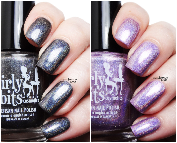 xoxoJen's swatches of Girly Bits: February COTM