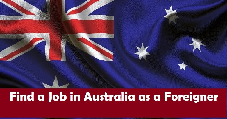 how to find a job in australia from overseas
