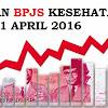 AKHIRNYA NAIK JUGA IURAN BPJS KESEHATAN PER 1 APRIL 2016