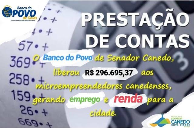 Senador Canedo: Banco do Povo fecha ano com balanço positivo