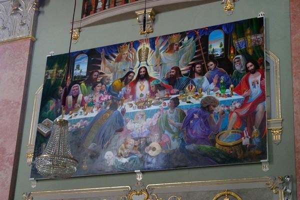 autriche klagenfurt carinthie église st. egid kirche ernst fuchs