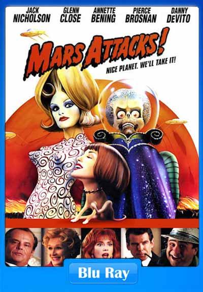 Mars Attacks 1996 480p BRRip ESubs 300MB x264