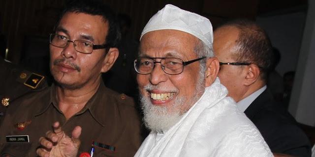 Ingin bertemu Jokowi, Ba'asyir ingin beri tausiah