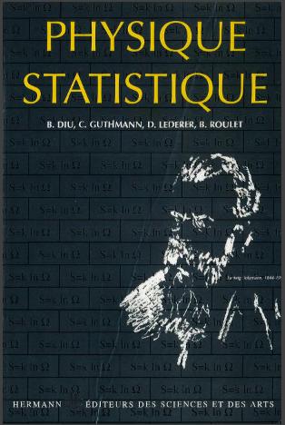 Livre : Éléments de physique statistique - Bernard Diu, Hermann 2001