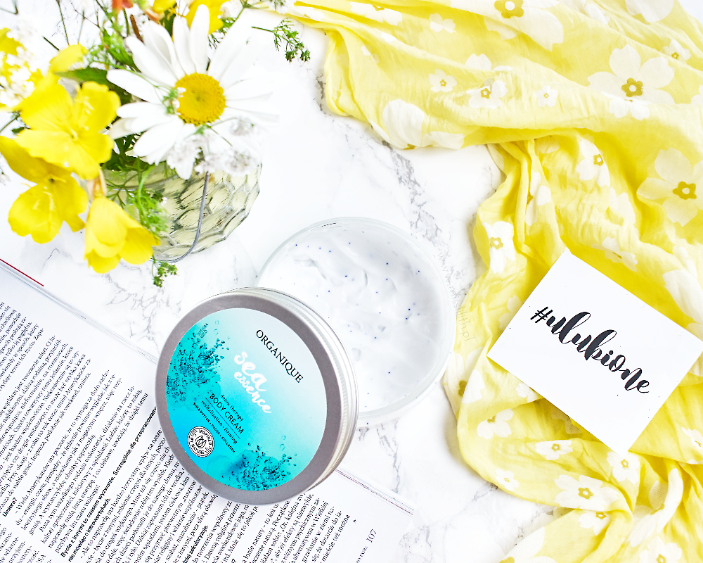 Organique Sea Essence Body Cream blog opinie