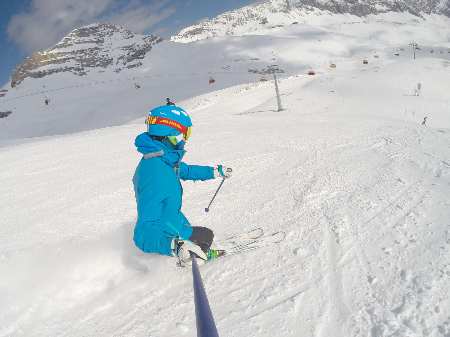 Skiing in Germany - great way to cross-train