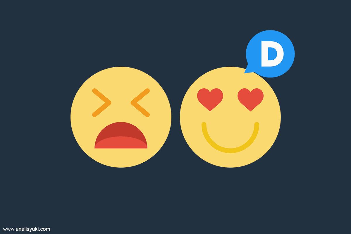 Cara Memasang Emoticon Reaction pada Komentar Disqus