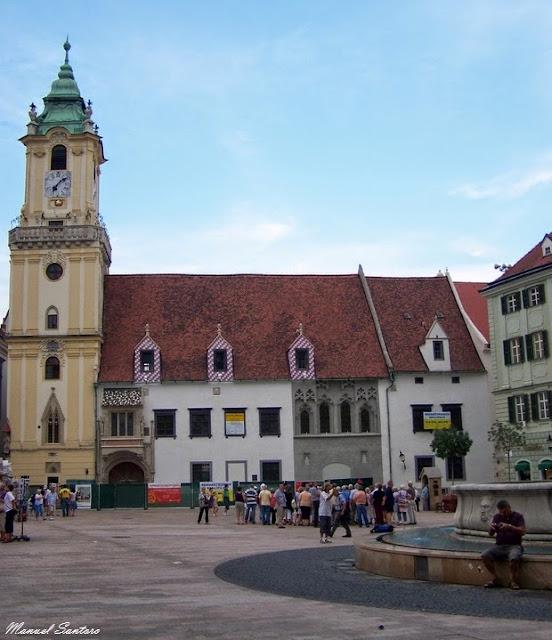 Bratislava, Municipio Vecchio