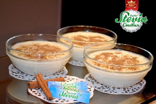 """Здравословен вариант на добре познатото """"Мляко с ориз"""" със Стевия НИКО"""