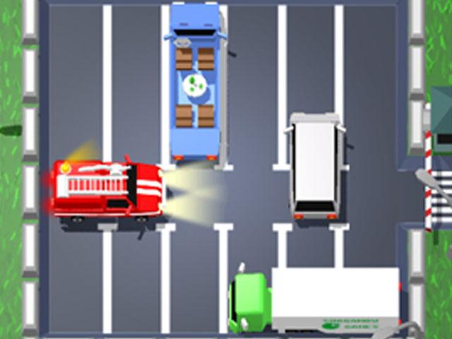 لعبة فتح الطريق للسيارات
