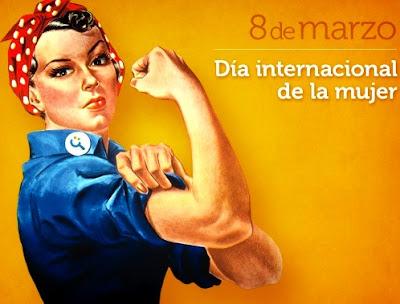 Imagen de una mujer fuerte por el Día Internacional de la Mujer
