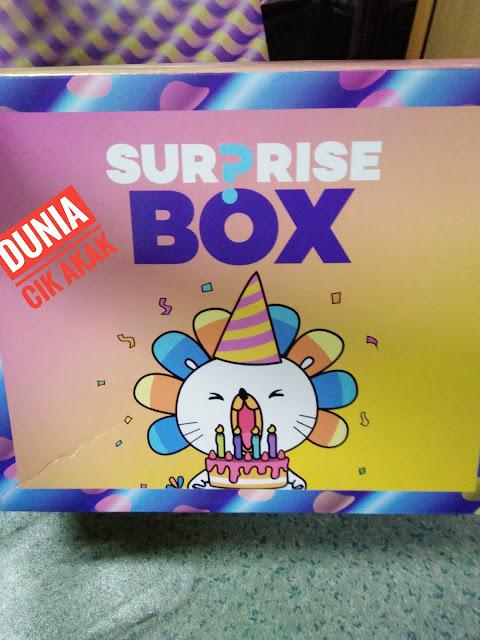 Surprise Box Lazada Sempena 5 Tahun Ulangtahun Memang Mengujakan