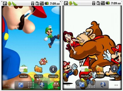 Wallpapers Marios Bros Android