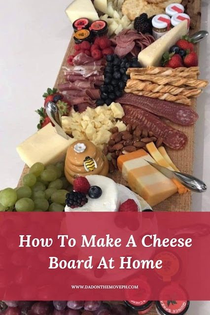 How to prepare a cheese board at home