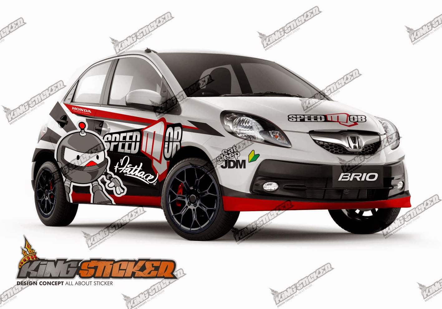 Variasi Stiker Honda Brio  wwwbilderbestecom