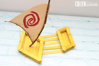 moana crafts for kids