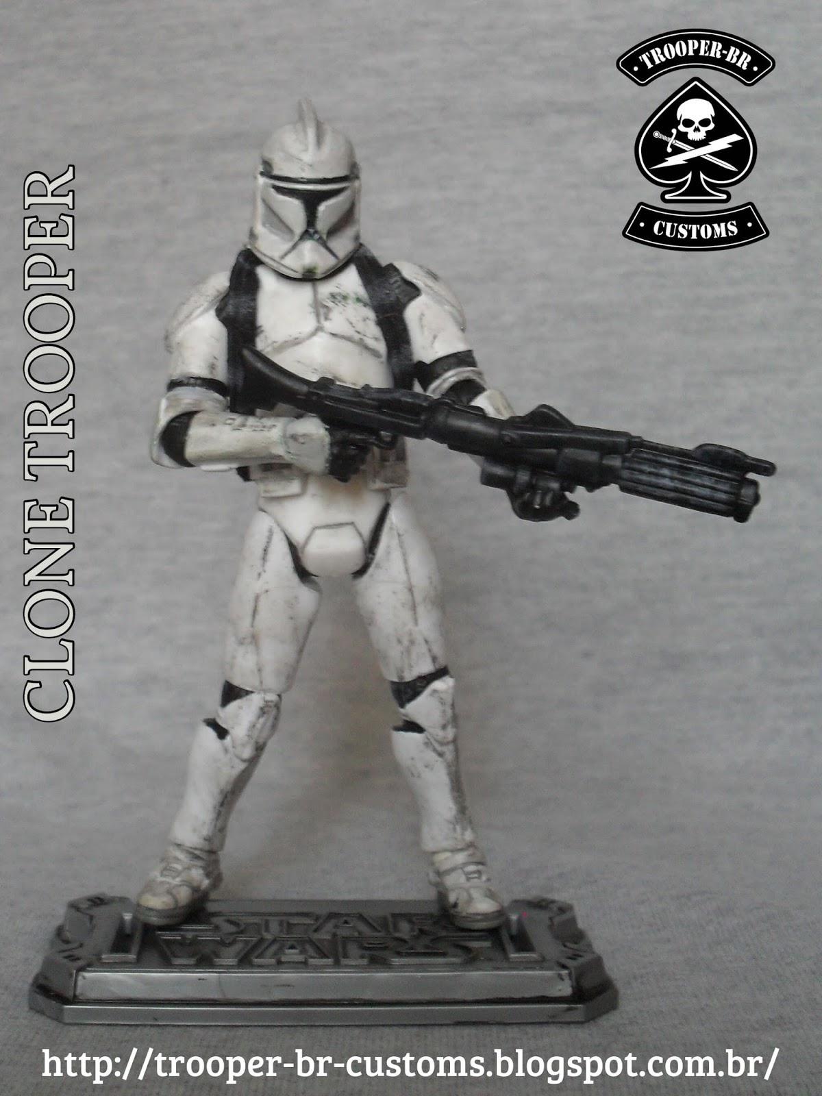 Famoso Clon Wars Clone Trooper Para Colorear Molde - Dibujos Para ...
