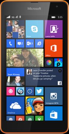 Smartphone Pertama Microsoft Lumia 535