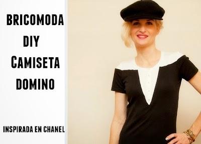 Como hacer Camiseta Domino Inspirada en Chanel