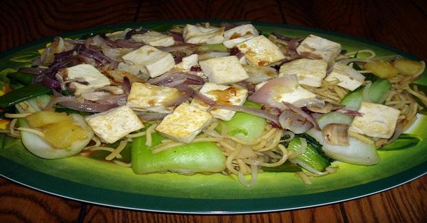 Vegetarian Pansit Guisado Recipe
