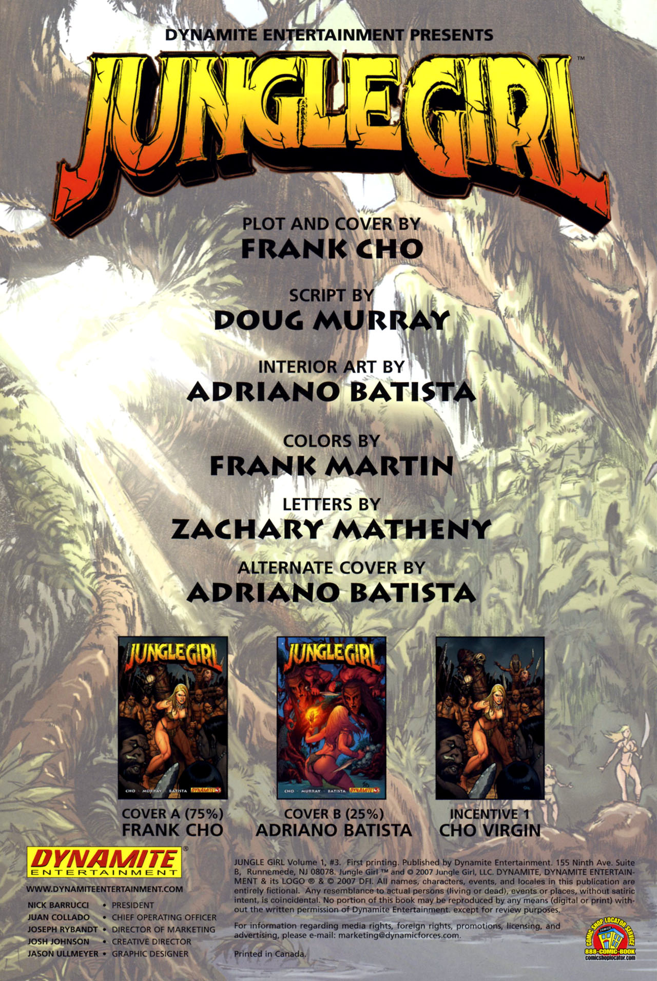 Read online Jungle Girl comic -  Issue #3 - 3