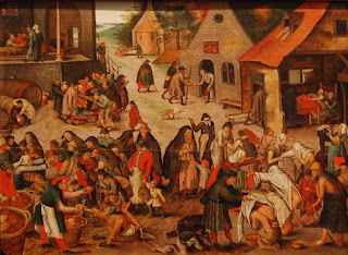 Bruegel le jeune – les sept actes de charité