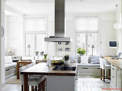 Seating in the kitchen design ideas