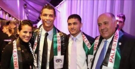 Cristiano Ronaldo Mendukung Palestina