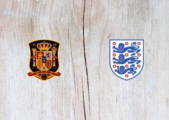 Spain vs England Full Match & Highlights 15 October 2018