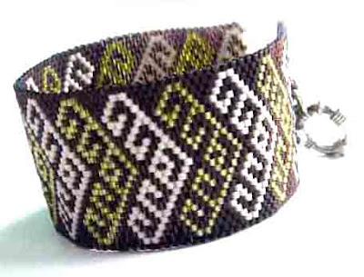 бисер бисероплетение блог мозаичное плетение браслет анабель