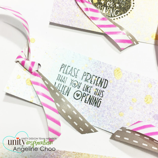 ScrappyScrappy: [NEW VIDEO] Quick Holiday Card and Tags with Unity Stamp #scrappyscrappy #unitystampco #stamp #stamping #christmas #holiday #card #cardmaking #tags