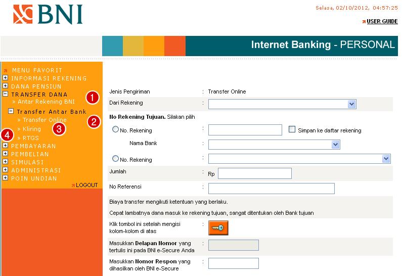 download menu bni internet banking