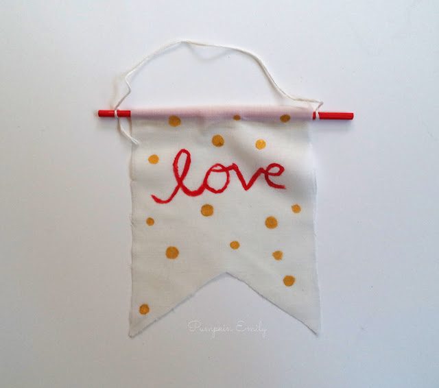 DIY Banner Ornament