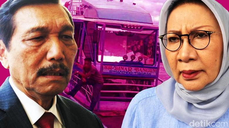 Capek, Alasan Luhut Ogah Komentar Soal Ratna Sarumpaet