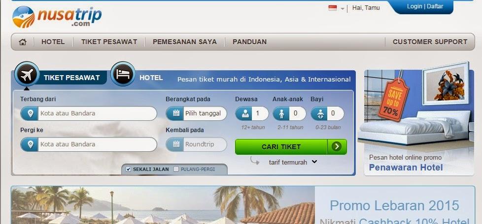 Tiket pesawat dan hotel