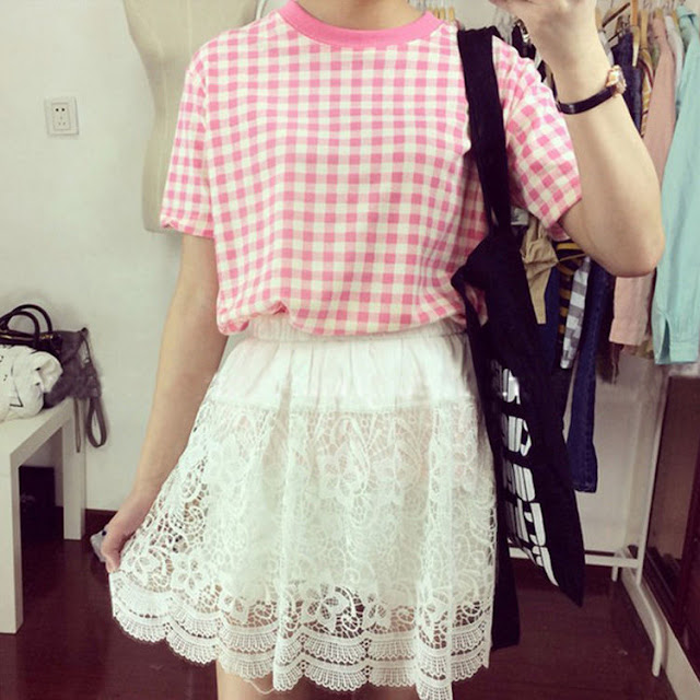 Kawaii Shirts You Need In Your Life! - pink gingham shirt