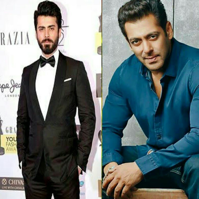 Pakistani artist Fawad Khan will face Salman Khan on the eve of the year 2019