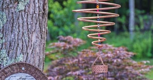 How to Make a Coiled Copper Wind Chimes