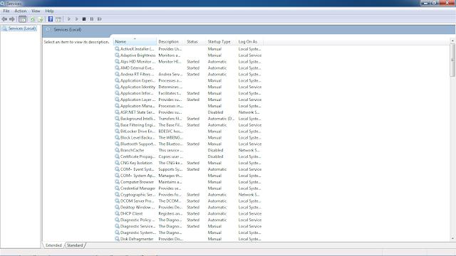 cara mematikan windows update pada windows spesialis