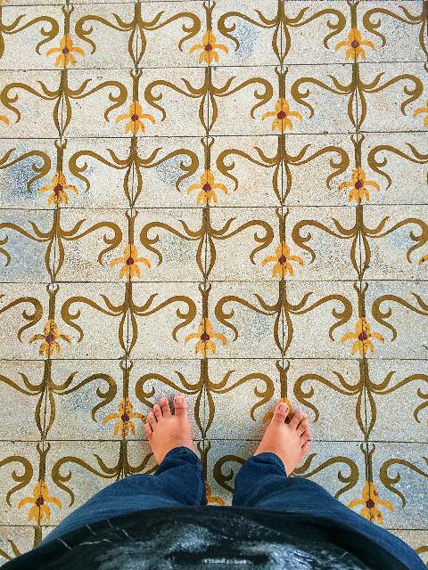 lantai masjid agung solo