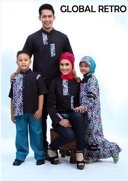 Model Baju Muslim Keluarga Modern