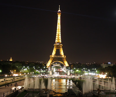 Beauty of Eiffel Tower at Night