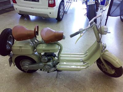 Model D Vespa Scooters
