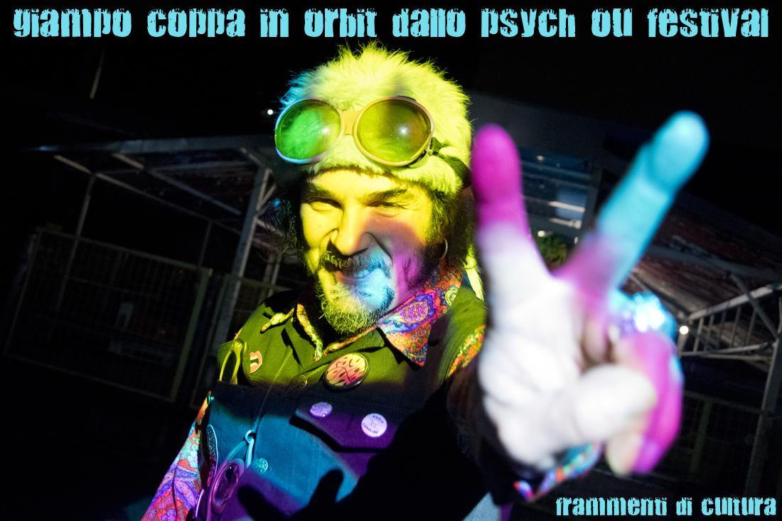 Giampo Coppa è nell'organizzazione dello Psych Out Festival (prima Psych Out Party) fin dal 1989.