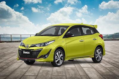 Daftar Harga Toyota New Yaris