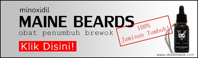 Serum Penumbuh Brewok MAINE BEARDS