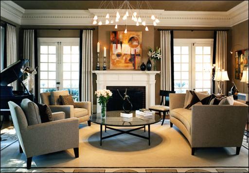 Transitional Living Room Design Ideas ~ Room Design Ideas