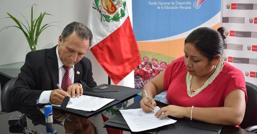 DRELM y FONDEP firman convenio para promover la implementación de laboratorios educativos - www.drelm.gob.pe