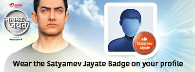 Wear The Satyamev Jayate Badge On Your Facebook Profile