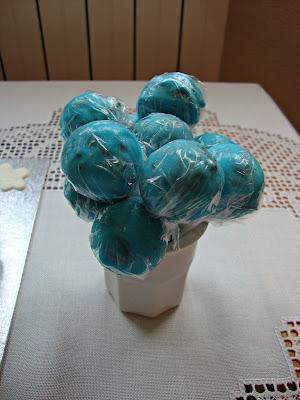 Cake pops bautizo